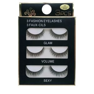 3 PAIR MINK LASHES NEW